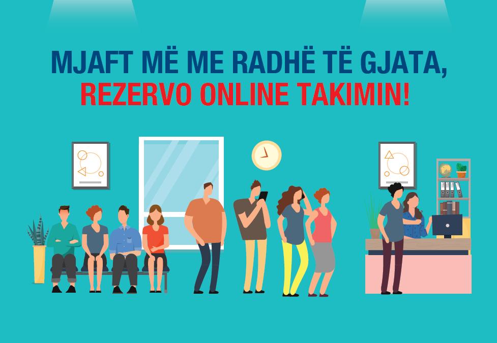 Rezervoni online takimin!
