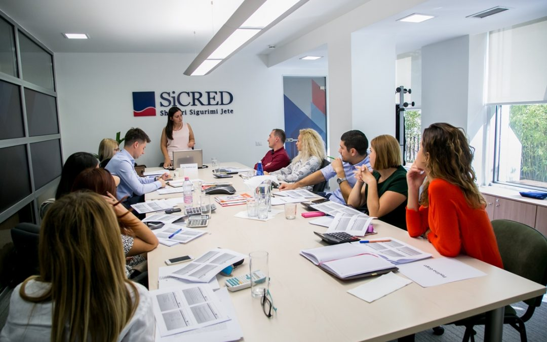 SiCRED organizes the training of its sales force, focused on Life insurance as an important part of the Albanian Personal Finance