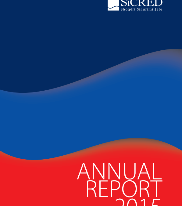 SiCRED announces with pleasure the releases of the Annual Report 2015