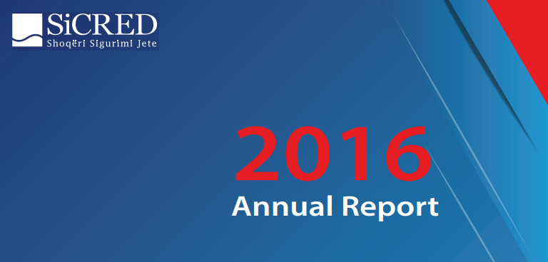 SiCRED publishes the Annual Report 2016