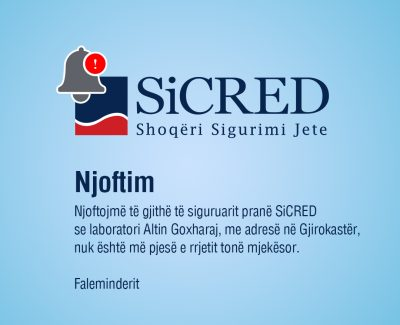 Notice of change in the SiCRED Medical Network!