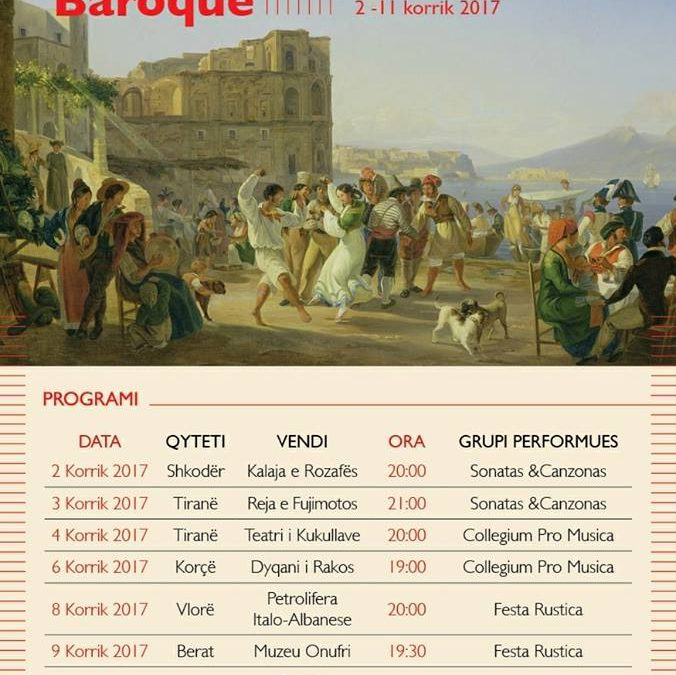 """SiCRED, for the fourth year in a row, supports """"Vox Baroque"""" festival"""