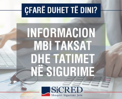 Information on insurance taxes