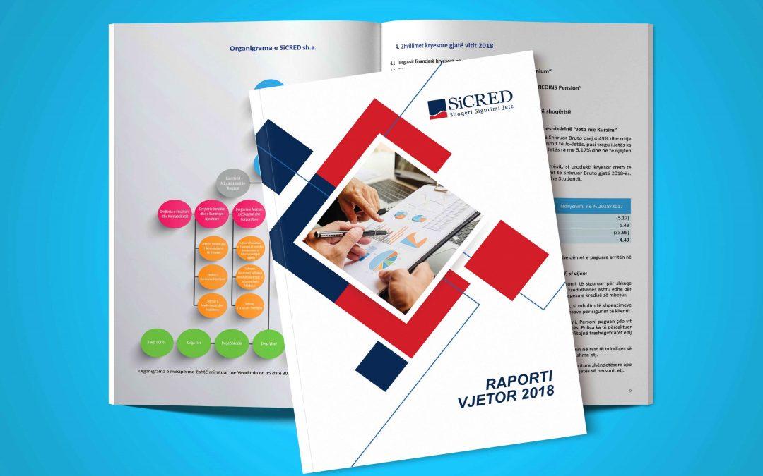 SiCRED ka kënaqësinë të ndajë me ju Raportin Vjetor 2018!